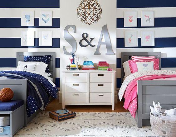 Ideas para habitacion compartida de nina y nino curso de for Ideas para decorar habitacion compartida nino nina