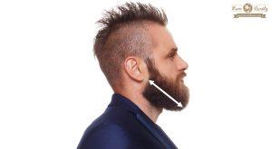 paso 3 mide la mandibula para conocer el tipo de rostro