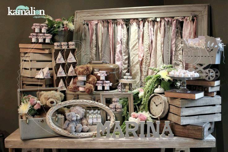 Baby shower estilo vintage 15 curso de organizacion - Estilo vintage decoracion ...