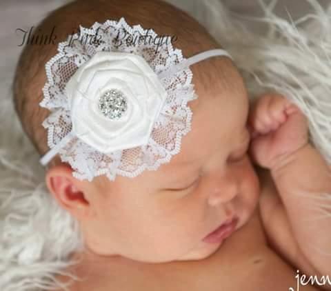 Balerinas para bautizo 4 curso de organizacion del hogar - Diademas para bebes bautizo ...