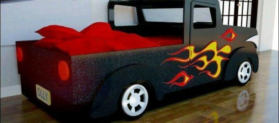 Camas con formas de carros y camiones curso de - Coches cama para ninos ...