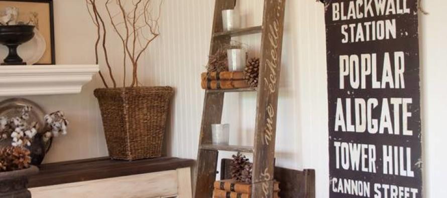 Como incluir en tu decoracion una escalera rustica curso for Decoracion y organizacion del hogar