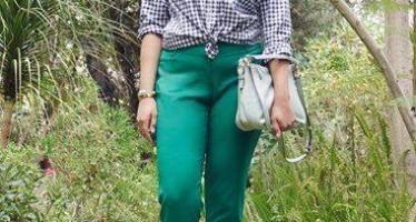 Como llevar el color verde si eres una chica con curvas