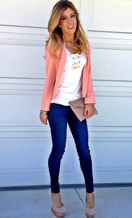 Como llevar jeans a la oficina y lucir con mucho estilo (8)