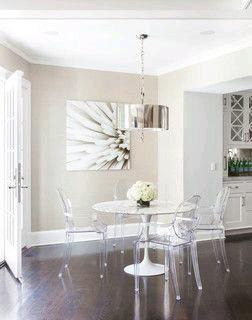Como usar sillas de acrilico transparente en tu hogar 11 for Sillas de acrilico