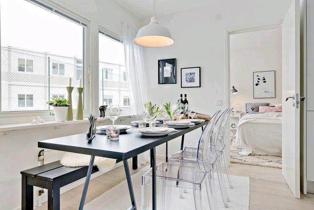 Como usar sillas de acrilico transparente en tu hogar Curso de