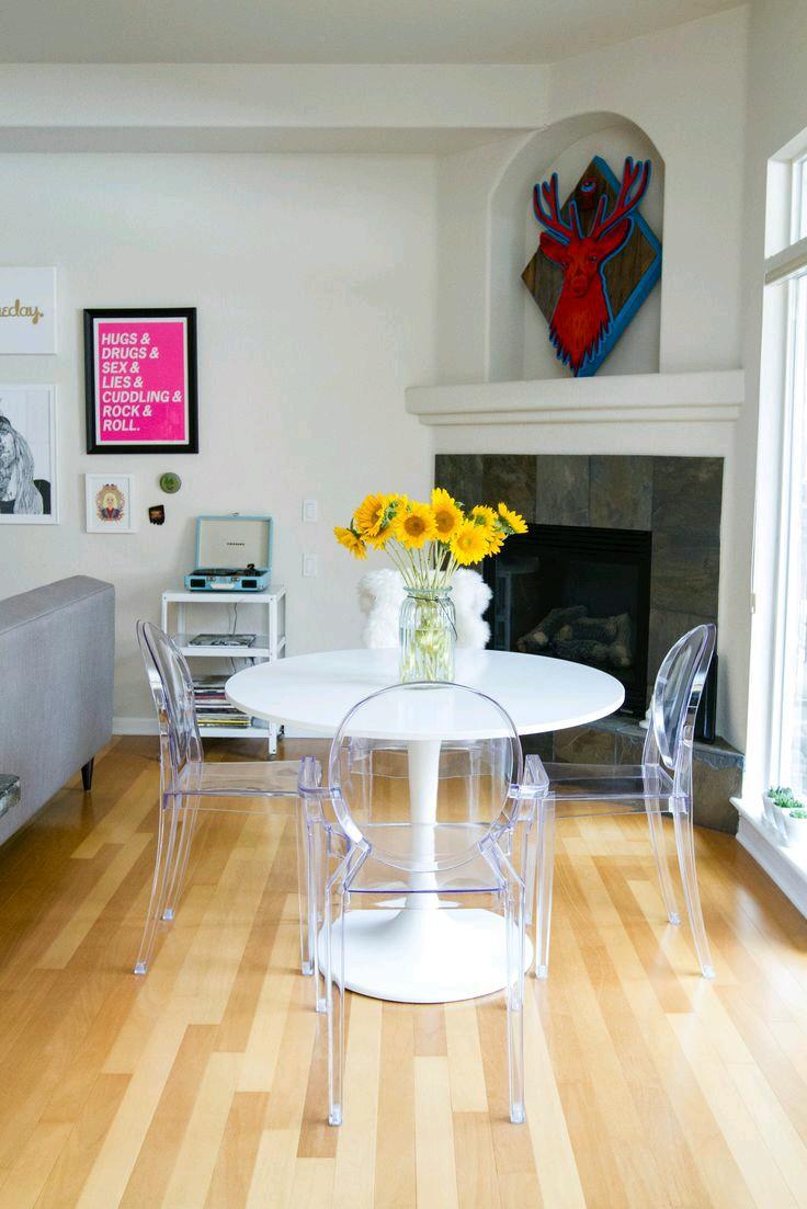 Como usar sillas de acrilico transparente en tu hogar 2 for Piso acrilico transparente