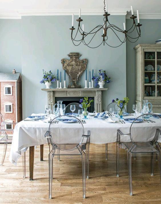 Como usar sillas de acrilico transparente en tu hogar 26 - Sillas acrilico transparente ...
