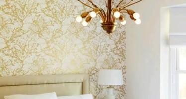 Decoracion de interiores con papel tapiz