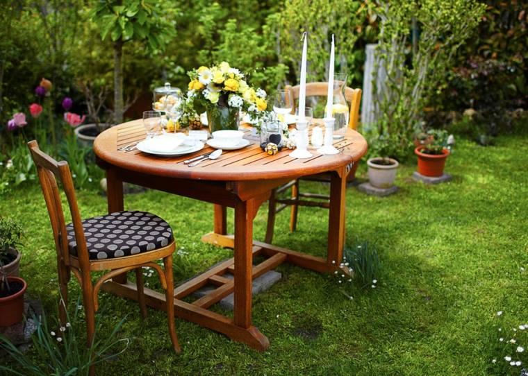 Decoracion de mesas para fiestas en jardin 7 curso de organizacion del hogar y decoracion de - Decoracion fiesta jardin ...