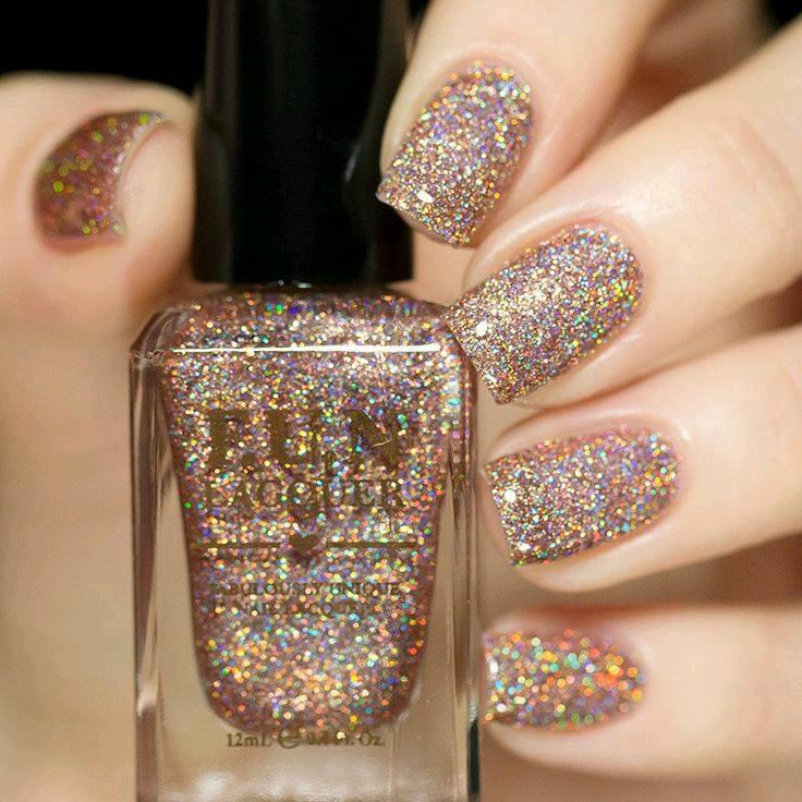 Decoracion de uñas en tonos metalicos y tornasol (12) - Curso de ...