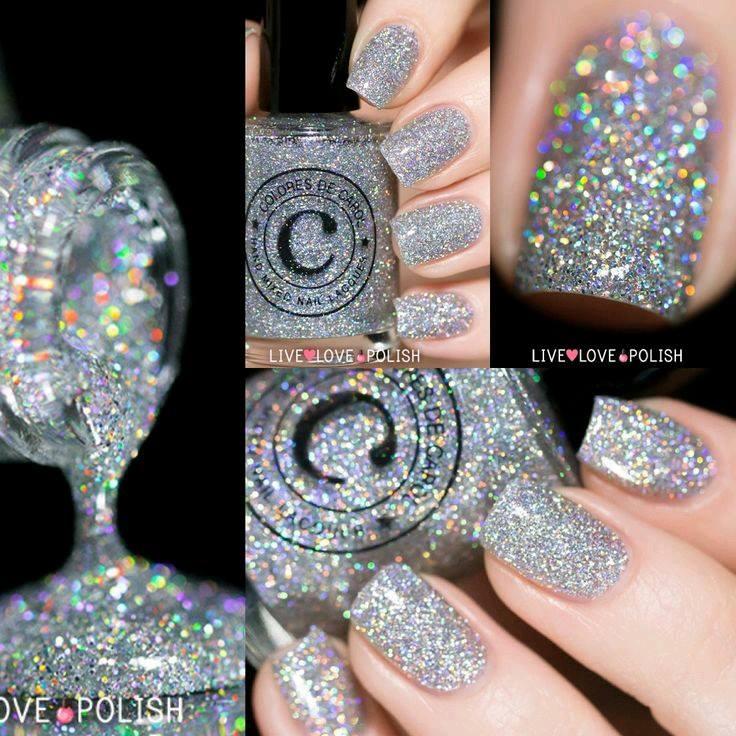 Decoracion de uñas en tonos metalicos y tornasol (14) - Curso de ...