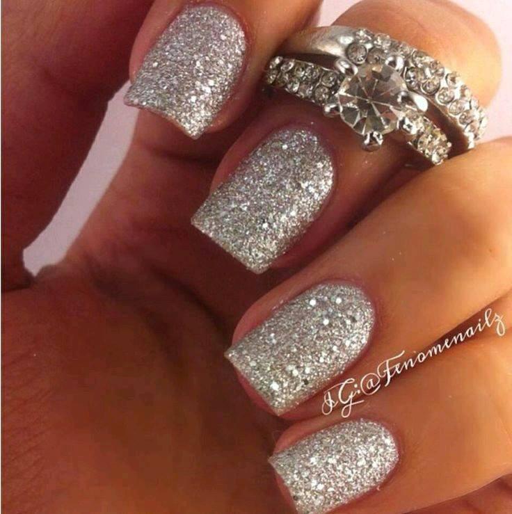 Decoracion de uñas en tonos metalicos y tornasol (25) - Curso de ...