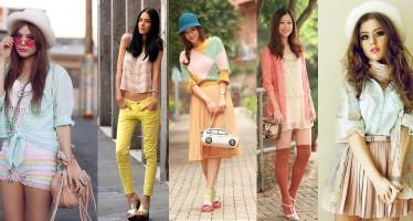 Descubre como combinar el color menta en tus outfits