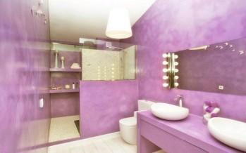 Diseños de baños a colores