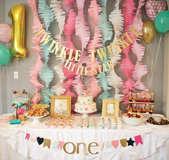 Fiesta De Cumpleaños Para Niña De 1 Año (4)