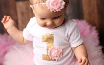Fiesta de cumpleaños para niña de 1 año