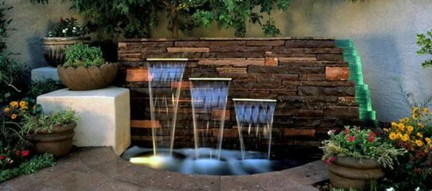 Fuentes modernas para tu hogar curso de organizacion del hogar - Fuentes de pared modernas ...