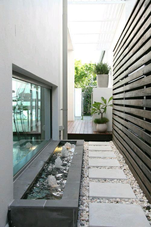 Fuentes modernas para tu hogar 11 curso de - Fuentes de pared modernas ...