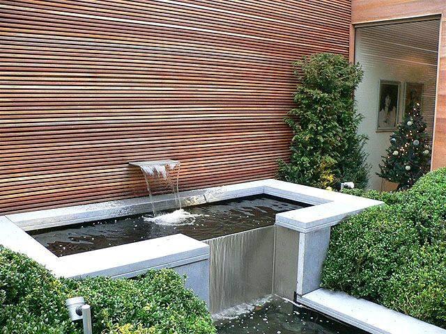 Fuentes modernas para tu hogar 29 curso de - Fuentes de pared modernas ...