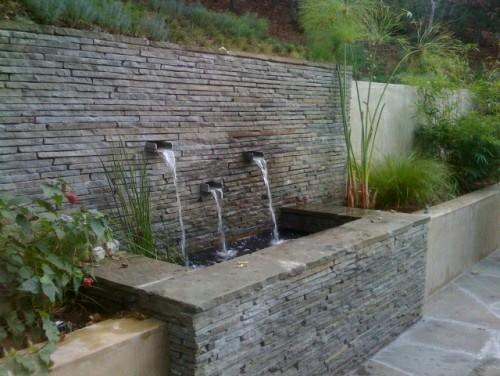 Fuentes modernas para tu hogar 31 curso de organizacion del hogar y decoracion de interiores - Fuentes de pared modernas ...