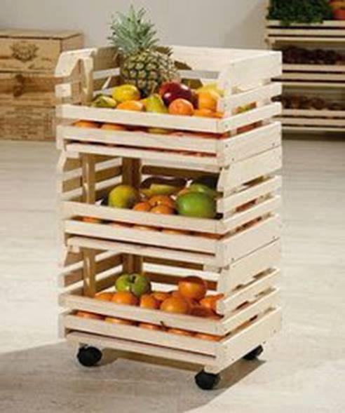 Ideas con cajas de madera - Ideas para reciclar cajas de madera ...