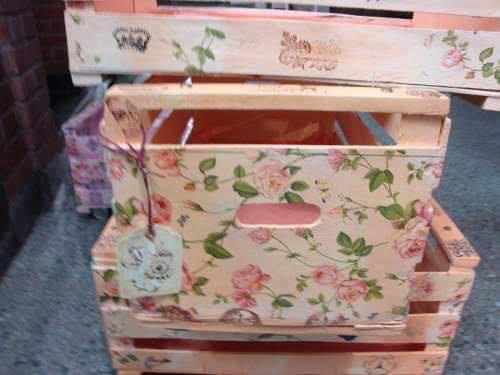 Ideas de como reciclar cajas de madera 16 curso de organizacion del hogar y decoracion de - Reciclar cajones de madera ...