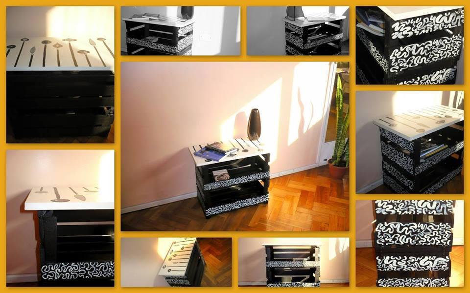 Ideas de como reciclar cajas de madera 8 curso de for Muebles con cajas de fruta