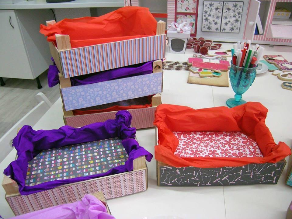 Ideas de como reciclar cajas de madera 9 curso de organizacion del hogar - Cajas de fruta para decoracion ...