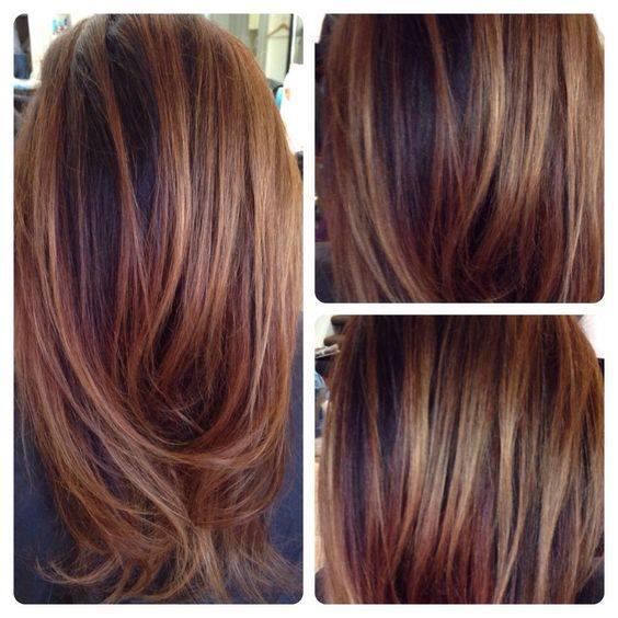 Ideas para cabello en color chocolate 10 curso de organizacion del hogar y decoracion de - Bano de color rojo pelo ...