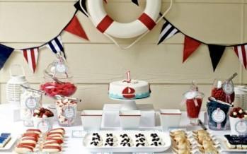 Ideas para decorar una piñata con tema de marinero