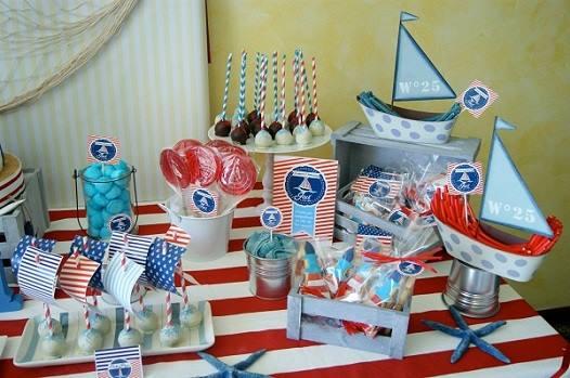 Ideas para decorar una pi ata con tema de marinero 3 for Decoracion nautica infantil