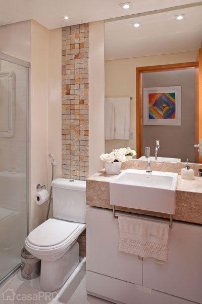 Decorar Baño De Visitas:Projeto De Banheiro Pequeno