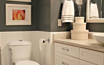 Ideas para decorar y organizar un baño de visitas