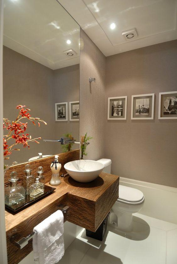 Decorar Baño De Visitas:La entrada Ideas para decorar y organizar un baño de visitas aparece