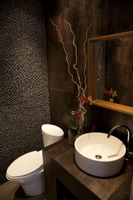 Ideas Para Decorar Baño De Visitas:Powder Room Design Ideas