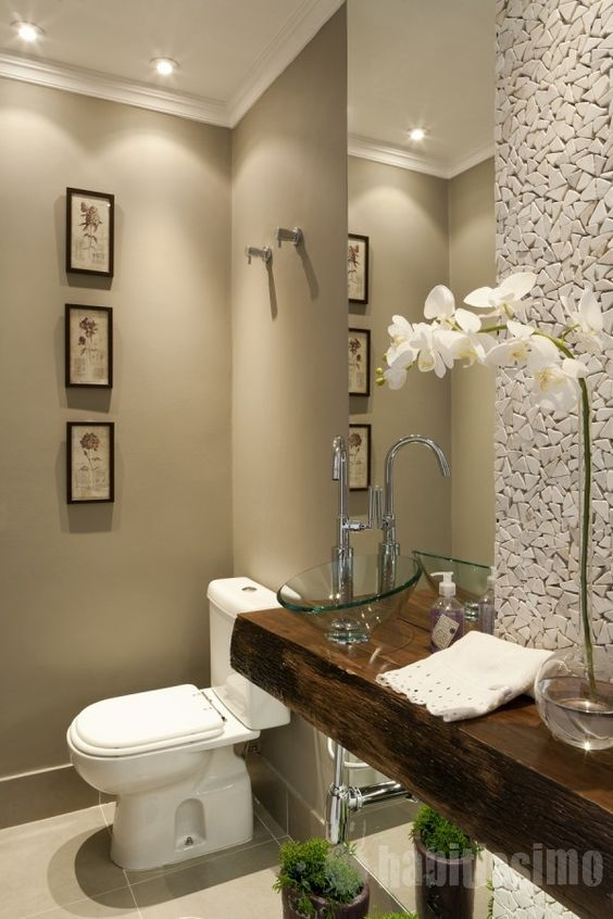 Ideas Para Decorar Baño De Visitas:Ideas para decorar y organizar un baño de visitas (3)