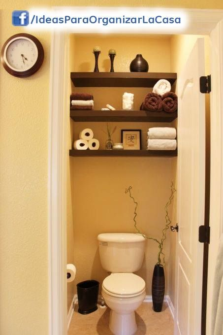 Ideas para decorar y organizar un ba o de visitas 8 Banos de visita pequenos
