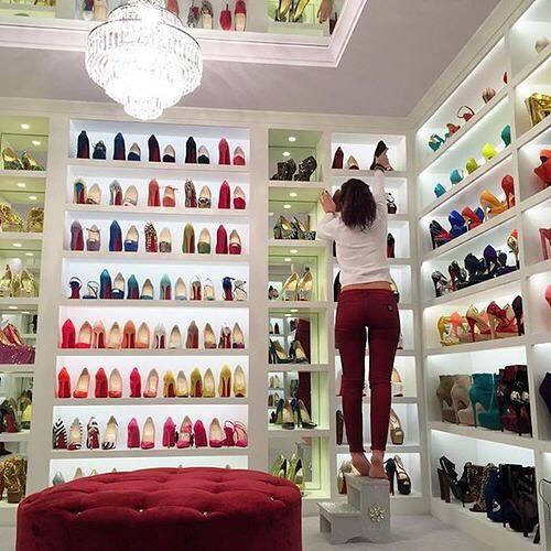 Ideas para organizar tus zapatos en el closet 16 curso - Ideas para decorar zapatos de nina ...