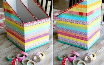 Ideas para reciclar cajas de carton