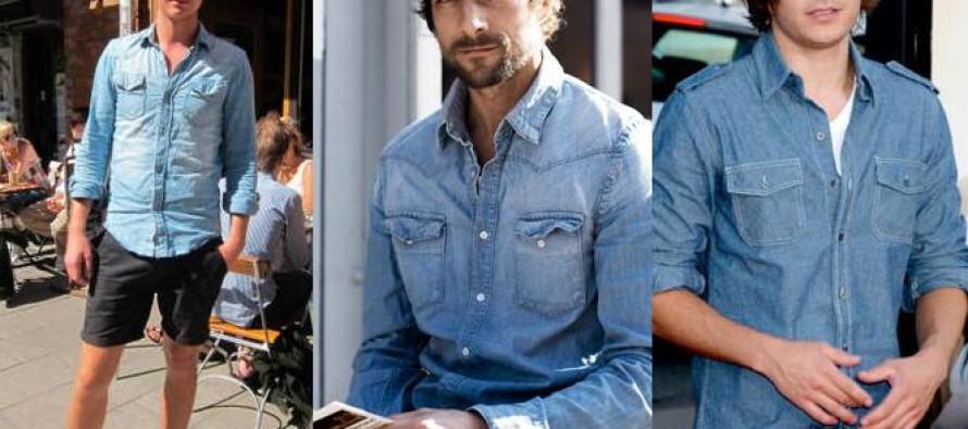 Outfits con mezclilla para hombres