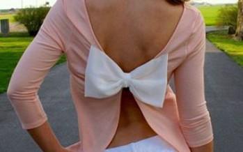 Outfits con moños en la espalda muy femeninos