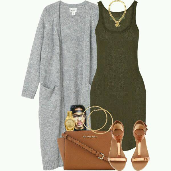 impressive outfits sweater verde militar 2017