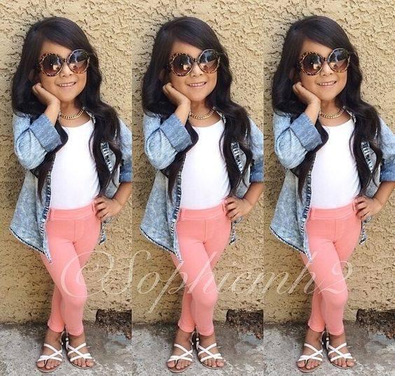 Outfits para niñas (1) - Curso de Organizacion del hogar