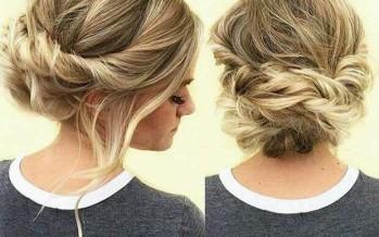 Peinados recogidos para eventos