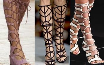 Tendencia en zapatillas hasta la rodilla