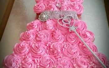 Vestidos de cupcake de princesas de Disney