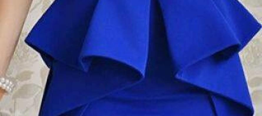 Vestidos peplum ideales para las que queremos esconder la pancita