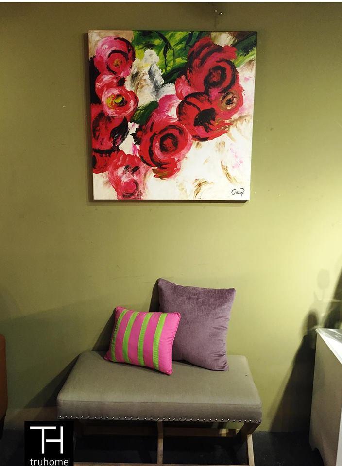 Tendencias en decoracion con cuadros al oleo 9 curso for Decoracion con cuadros