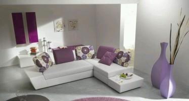 Decoracion de interiores color lavanda
